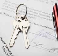 Keys to home and contract